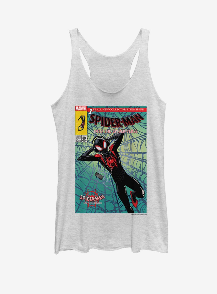 Marvel Spider-Man: Into the Spider-Verse Music Time Womens Tank Top