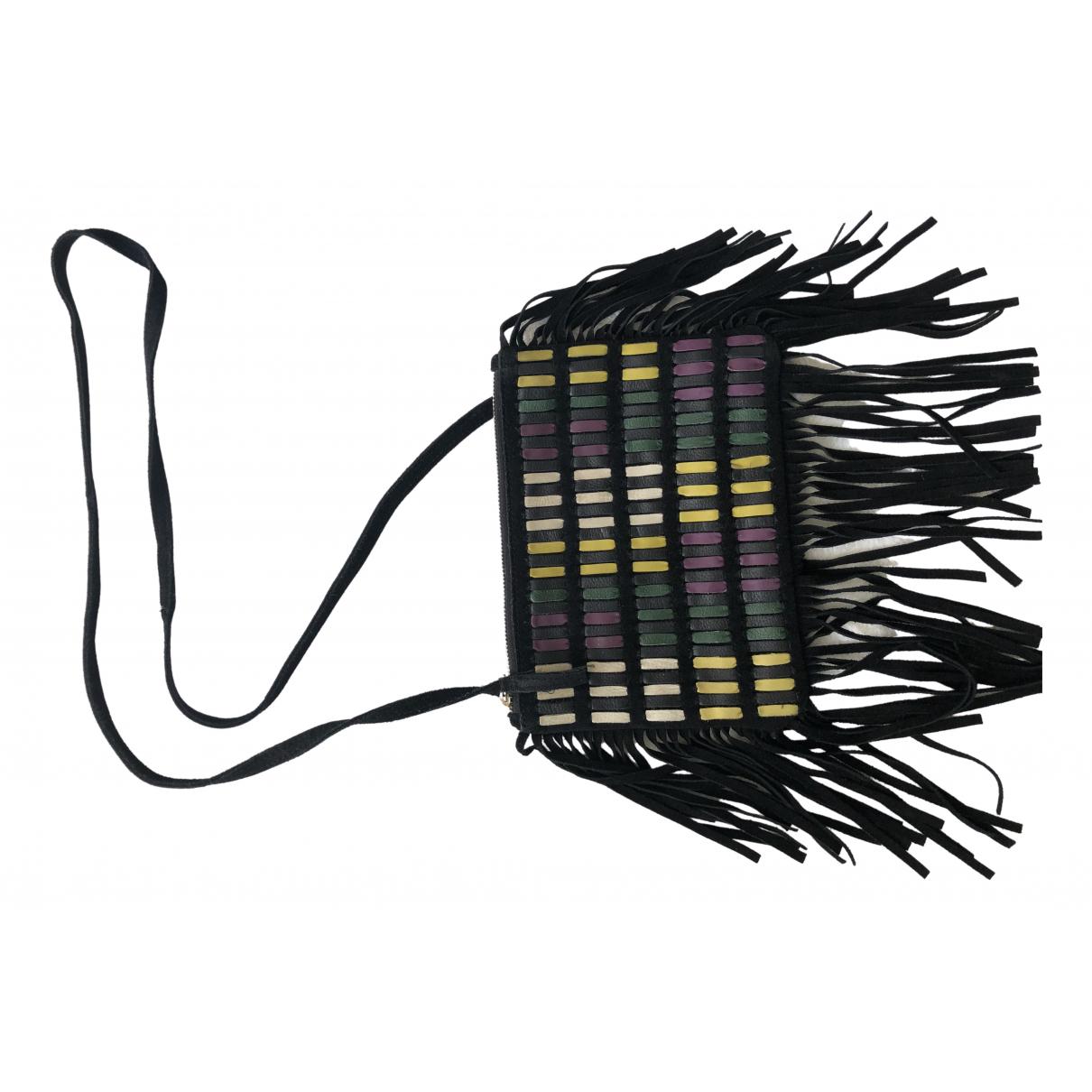 Asos - Pochette   pour femme en suede - multicolore