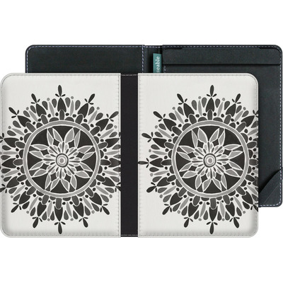tolino vision 3 HD eBook Reader Huelle - Mandala Black von Cat Coquillette