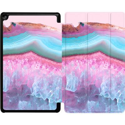 Amazon Fire HD 8 (2018) Tablet Smart Case - Serenity Rose Quartz Agate von Emanuela Carratoni