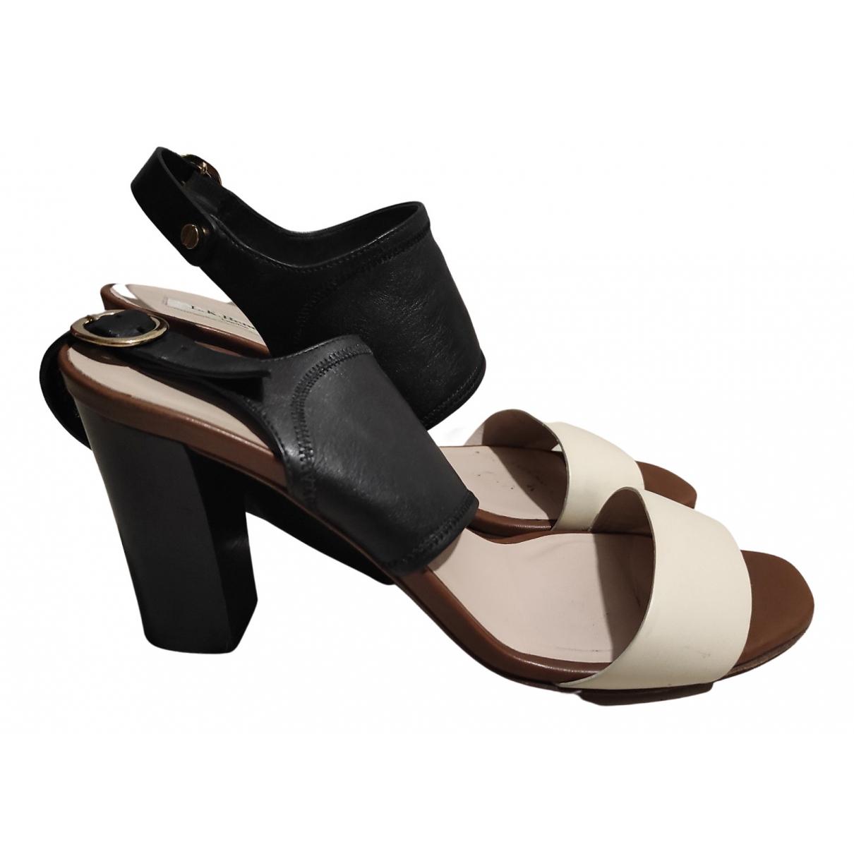 Lk Bennett N Multicolour Leather Sandals for Women 39 EU