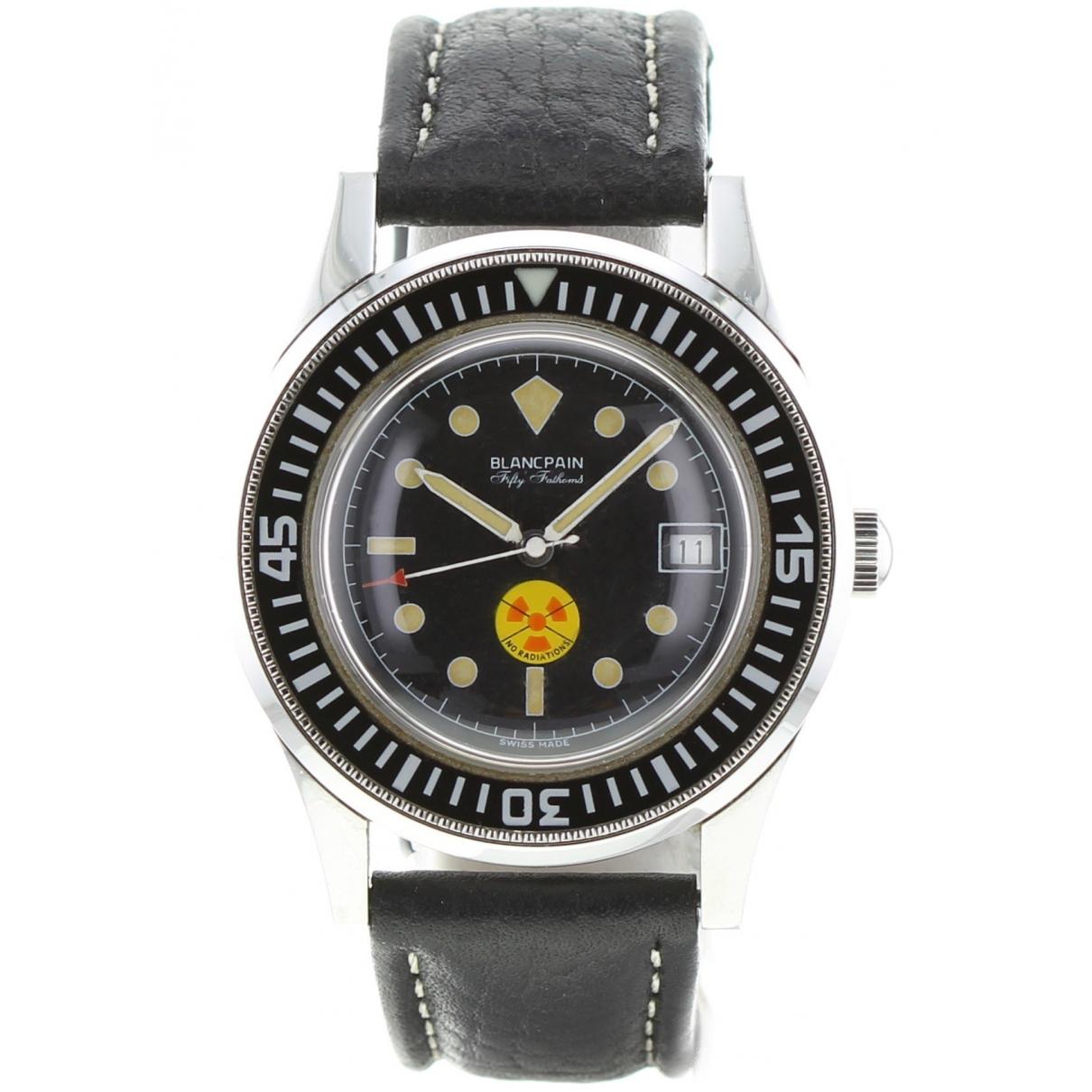 Blancpain Fifty Fathoms Bathyscaphe Khaki Steel watch for Men \N