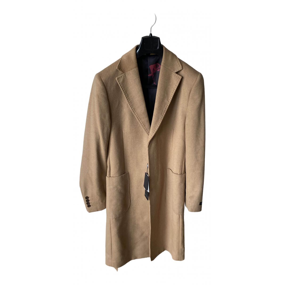 - Manteau   pour homme en laine - marron