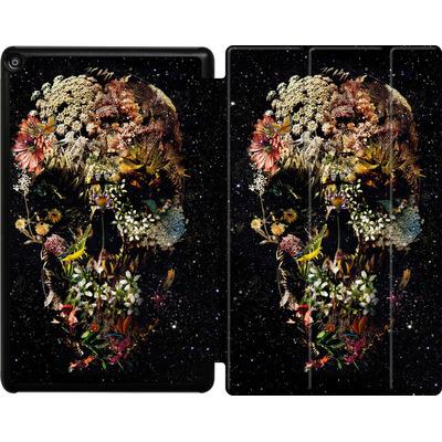 Amazon Fire HD 10 (2018) Tablet Smart Case - Smyrna Skull von Ali Gulec