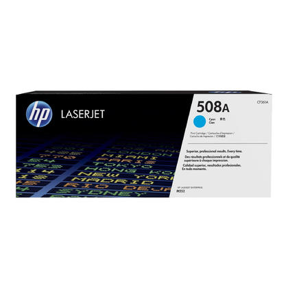 HP 508A CF361A Original Cyan Toner Cartridge