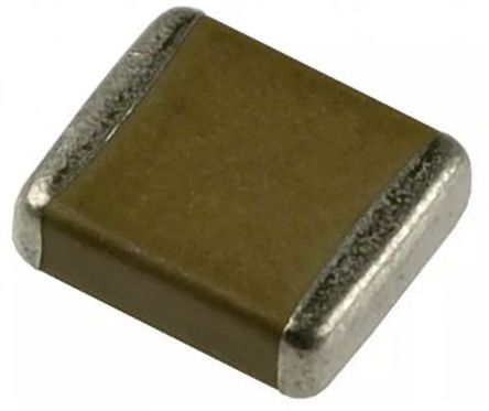 Murata , 2220 (5650M) 2.2nF Multilayer Ceramic Capacitor MLCC 250V ac ±10% , SMD GA355QR7GF222KW01L (50)