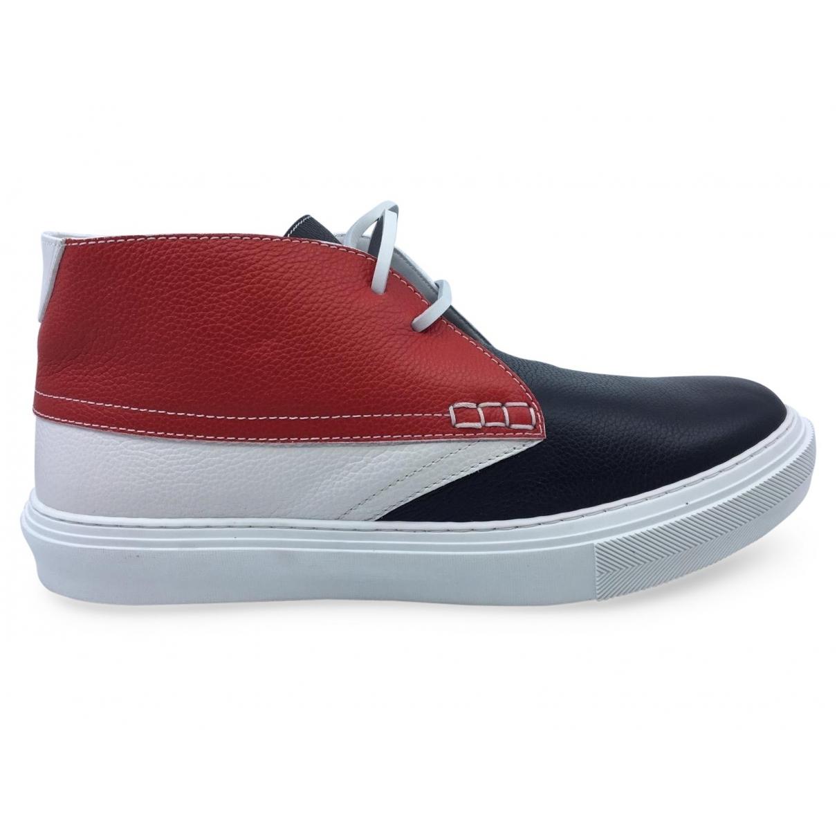 Louis Vuitton \N Sneakers in  Bunt Leder