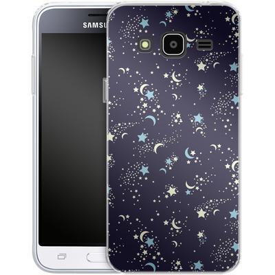 Samsung Galaxy J3 (2016) Silikon Handyhuelle - Mystical Pattern von caseable Designs