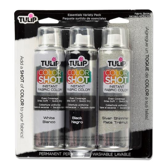 Tulip® Colorshot Instant Fabric Color™ Essentials Variety ct Paint | Michaels®