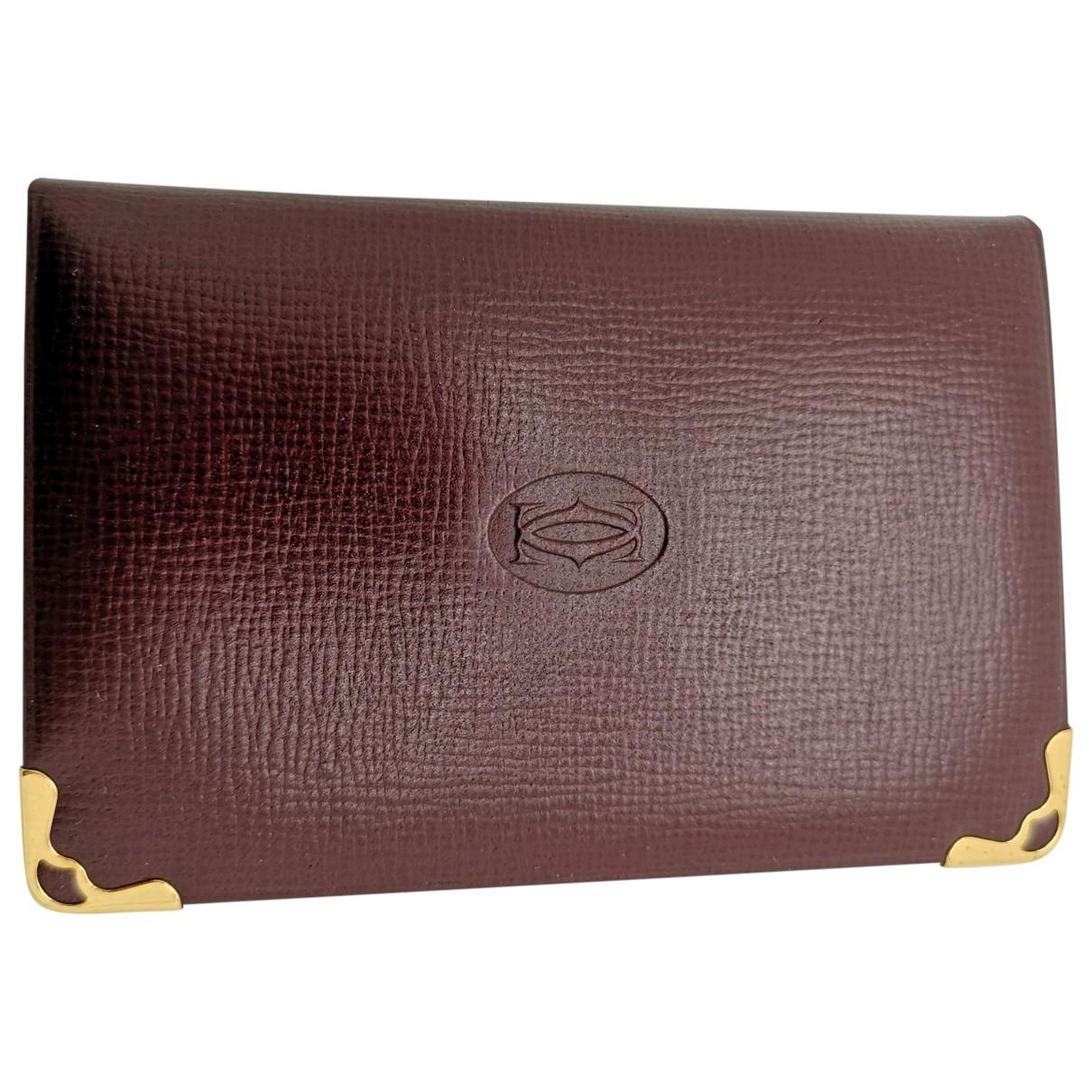 Cartier - Objets & Deco   pour lifestyle en cuir - bordeaux