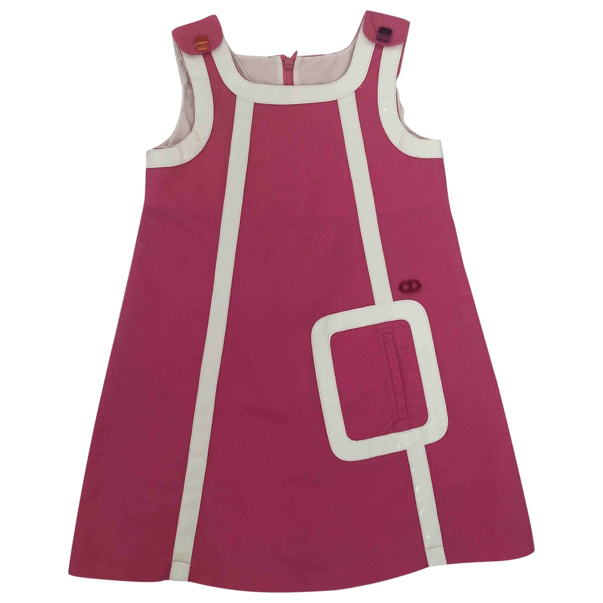 Dior \N Pink Cotton dress for Kids 4 years - up to 102cm FR