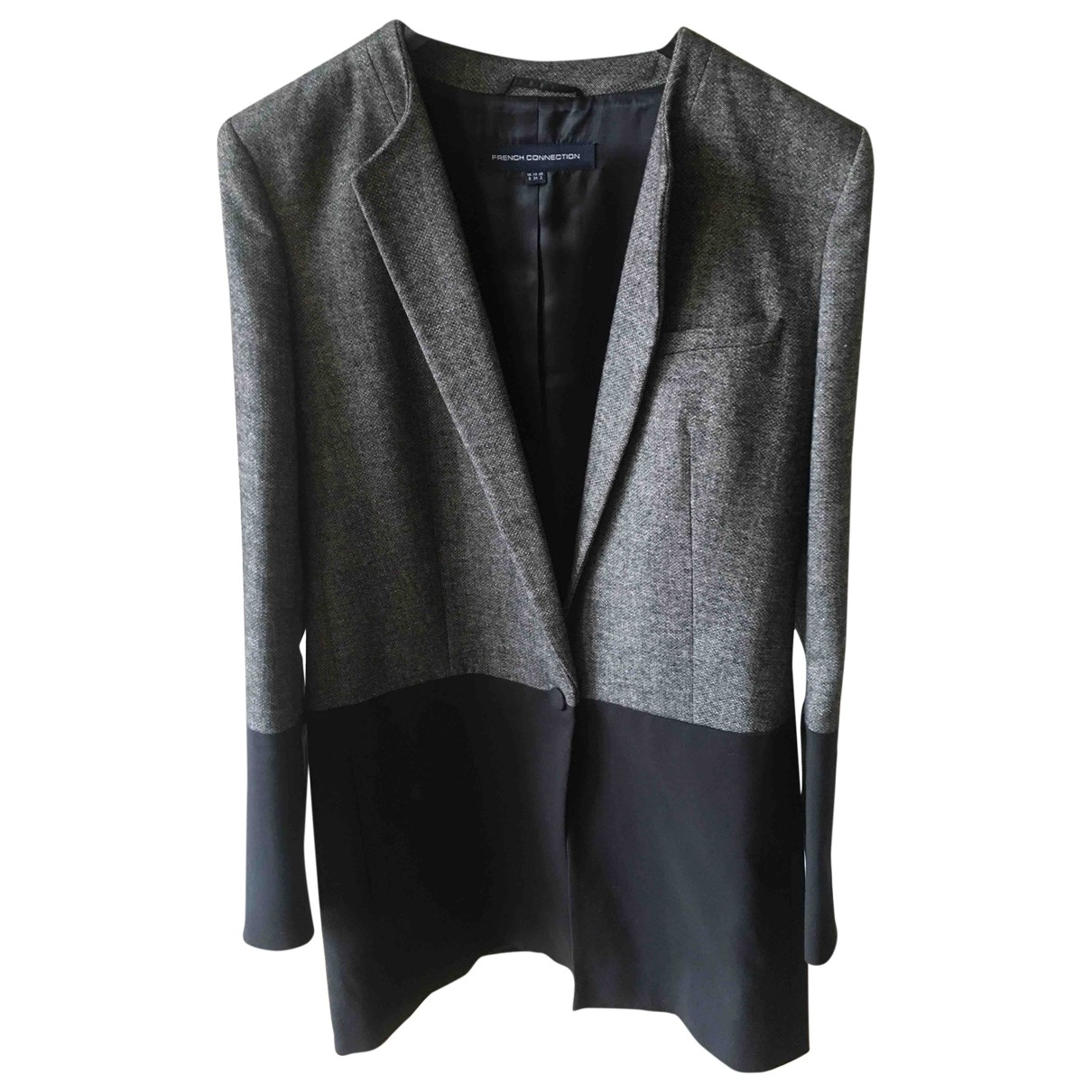 French Connection \N Black Cotton jacket for Women 34 FR