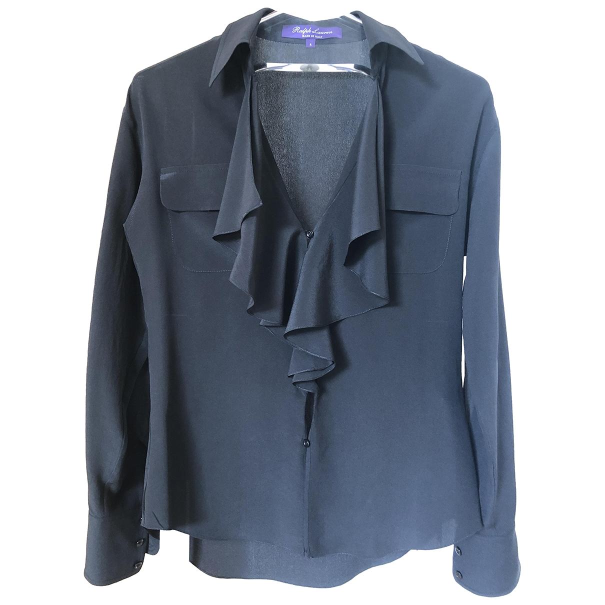 Ralph Lauren \N Black Silk  top for Women 4 US