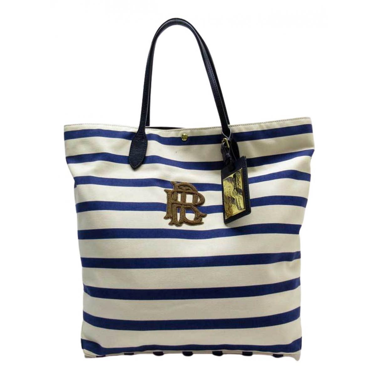 Ralph Lauren Collection \N Navy Cloth handbag for Women \N