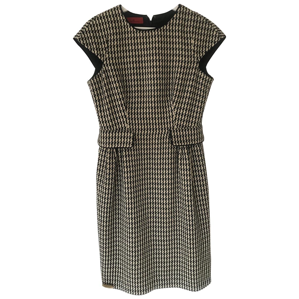 Carolina Herrera - Robe   pour femme en laine - multicolore