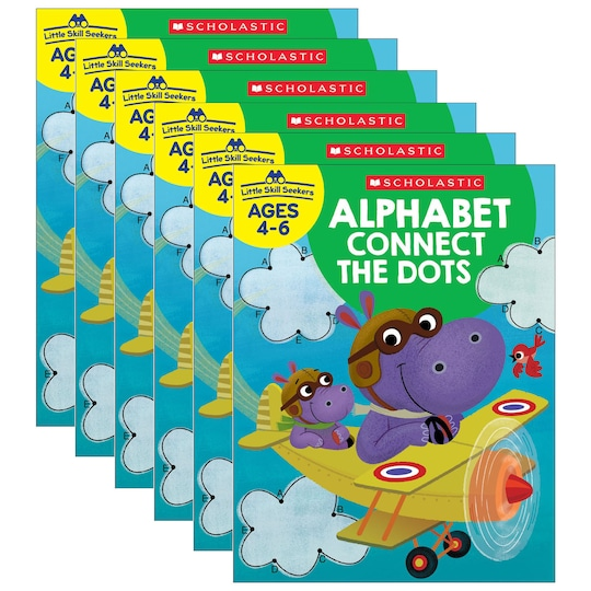 Scholastic Little Skill Seekers: Alphabet Connect The Dots, 6Ct. | Michaels®
