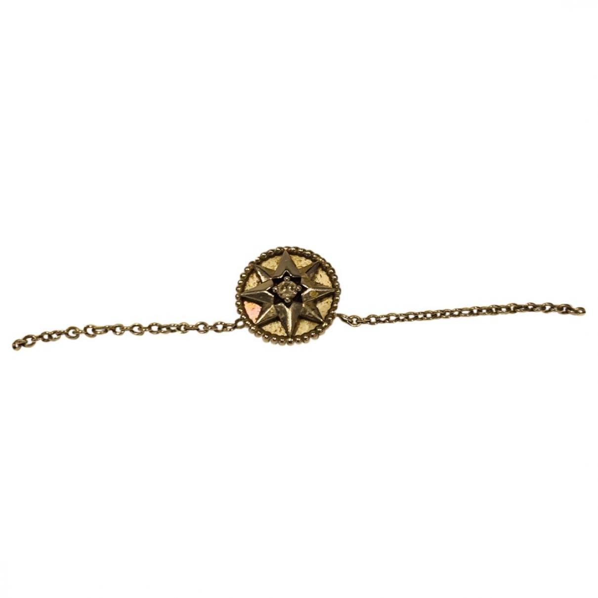 Dior - Collier Rose des vents pour femme en or blanc - argente