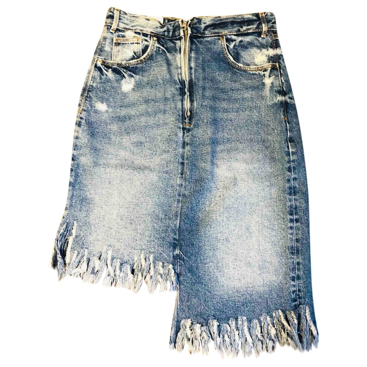 Falda midi Zara