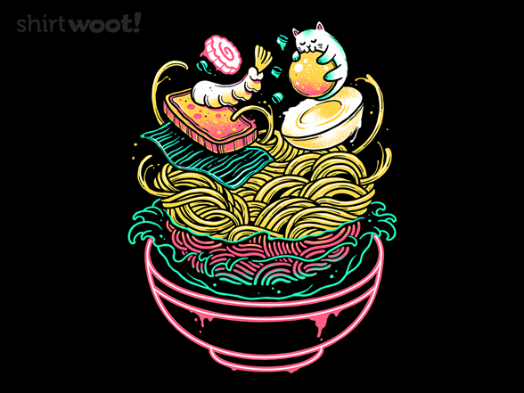 Floating Ramen T Shirt