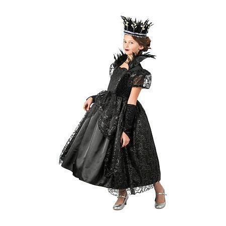 Girls Dark Princess Costume Girls Costume, Small , Black