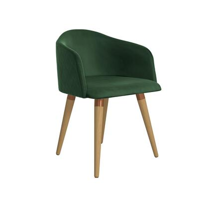 Kari Collection 1020483 Accent Chair with Foam Filled Cushion  Contemporary Modern Style  Medium-Density Fiberboard (MDF) Frame  Solid Pine Wood