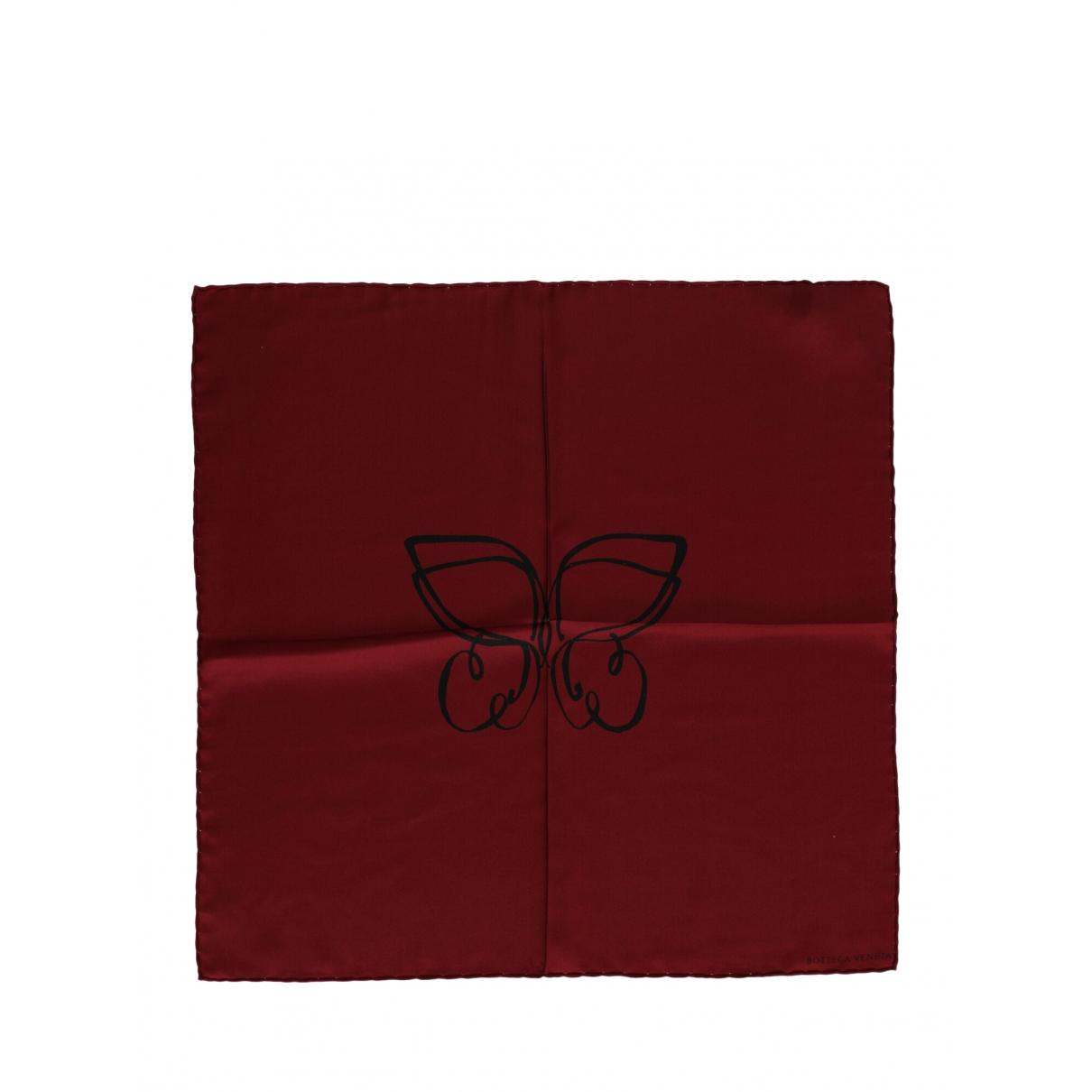 Bottega Veneta \N Burgundy Silk scarf for Women \N