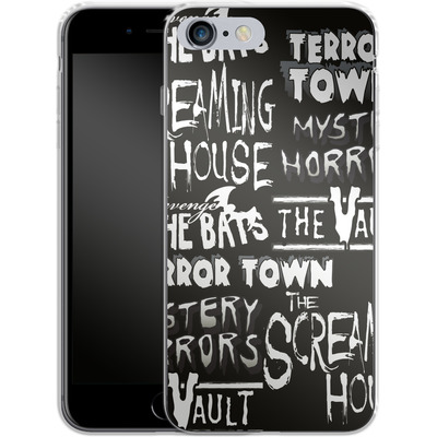 Apple iPhone 6 Plus Silikon Handyhuelle - Terror Town Patterns von caseable Designs