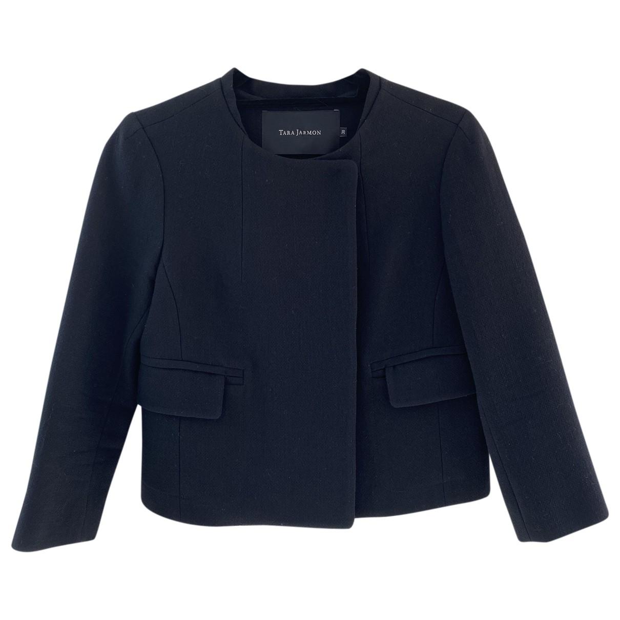 Tara Jarmon \N Black Wool jacket for Women 38 FR