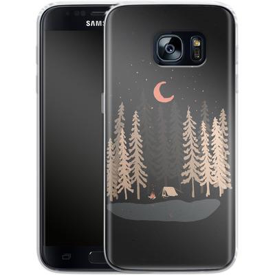 Samsung Galaxy S7 Silikon Handyhuelle - Feeling Small von ND Tank