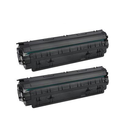 Compatible HP 85X CE285X cartouche de toner noire - boite economique - 2/paquet