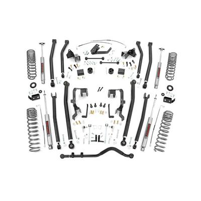 Rough Country 4 Jeep Long Arm Suspension Lift Kit with N3 Shocks - 78530