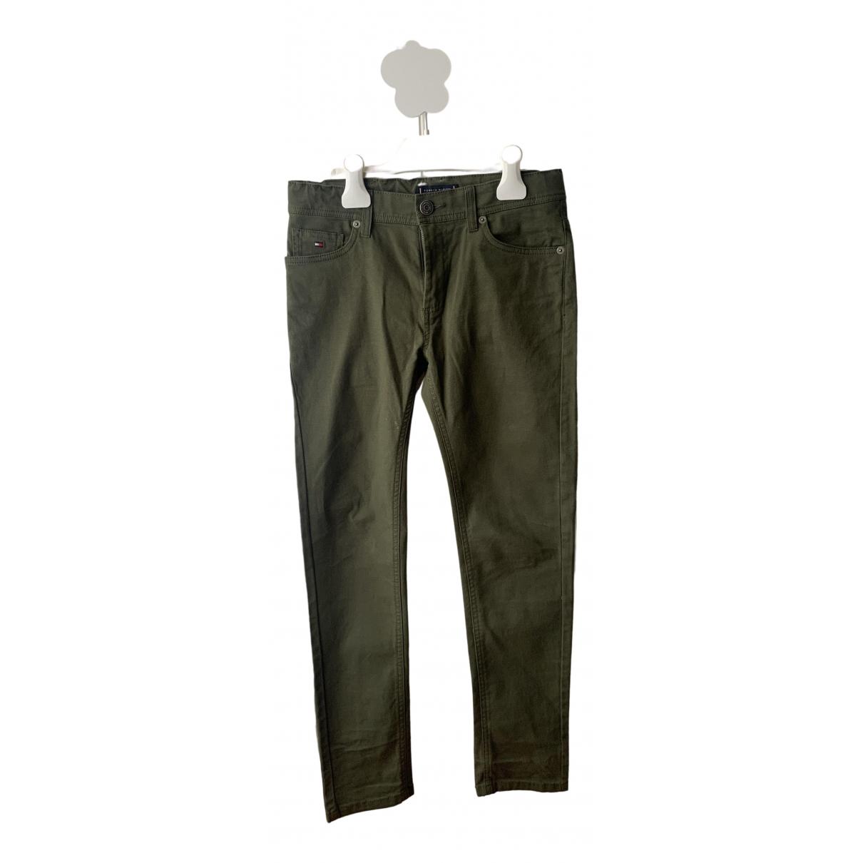 Tommy Hilfiger - Pantalon   pour enfant en coton - vert