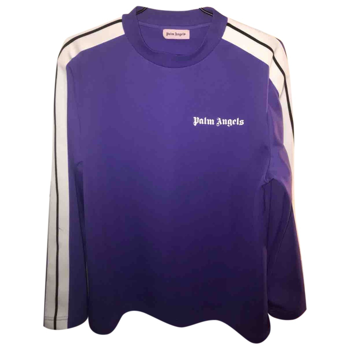 Palm Angels \N Pullover.Westen.Sweatshirts  in  Lila Polyester