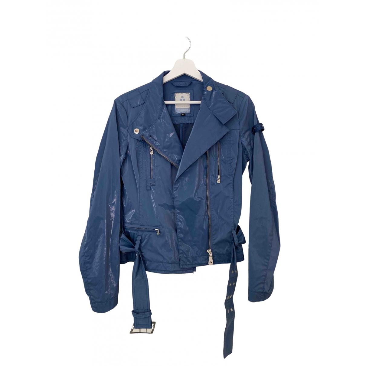 Peuterey - Veste   pour femme en coton - bleu