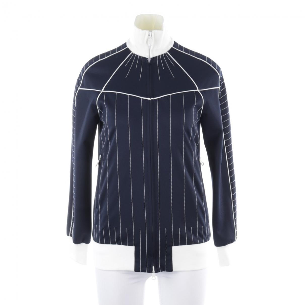 Valentino Garavani \N Pullover in  Blau Polyester