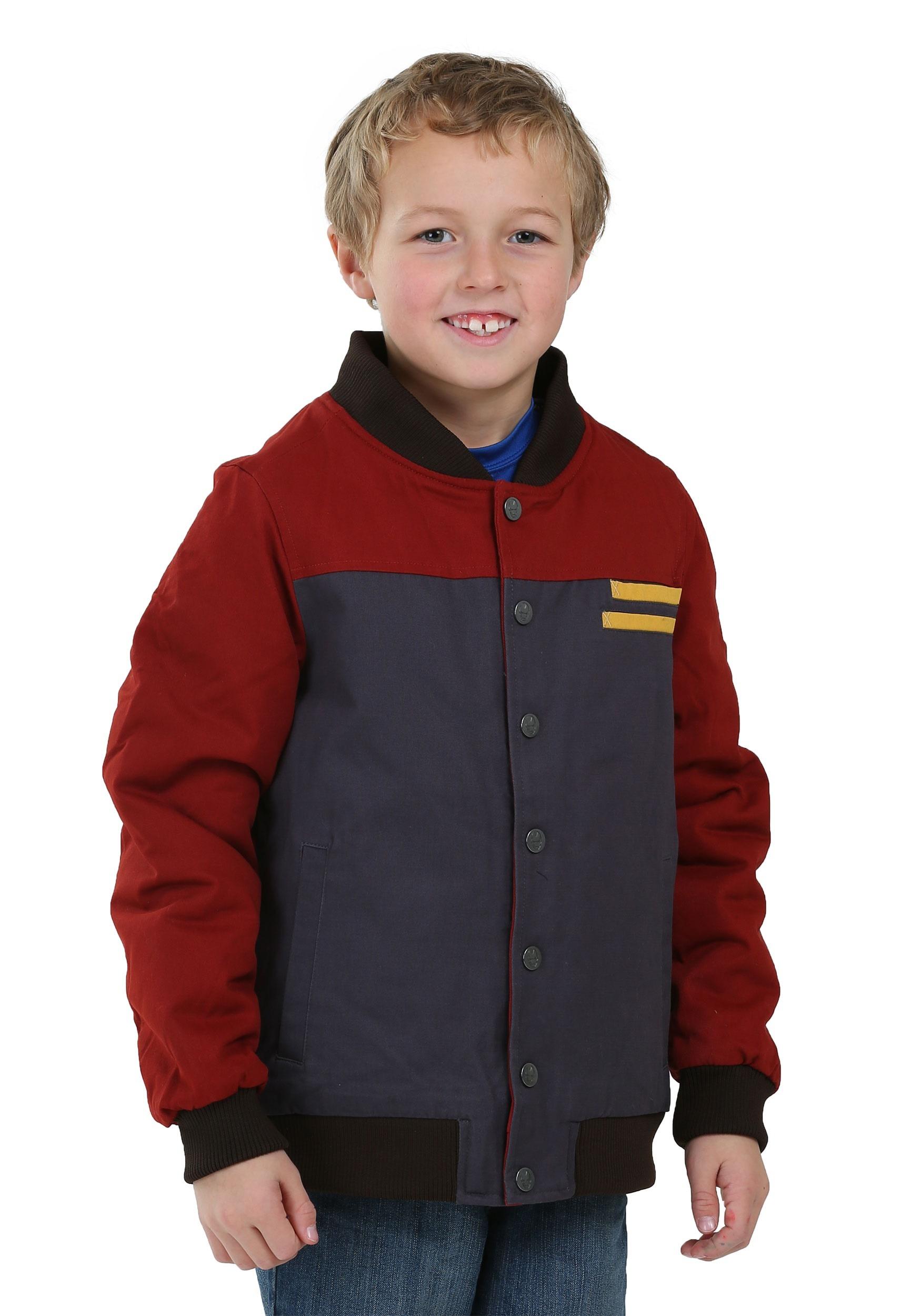 Kids Iron Man Casual Superhero Jacket (Secret Identity)
