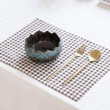 Gingham Pattern Placemat