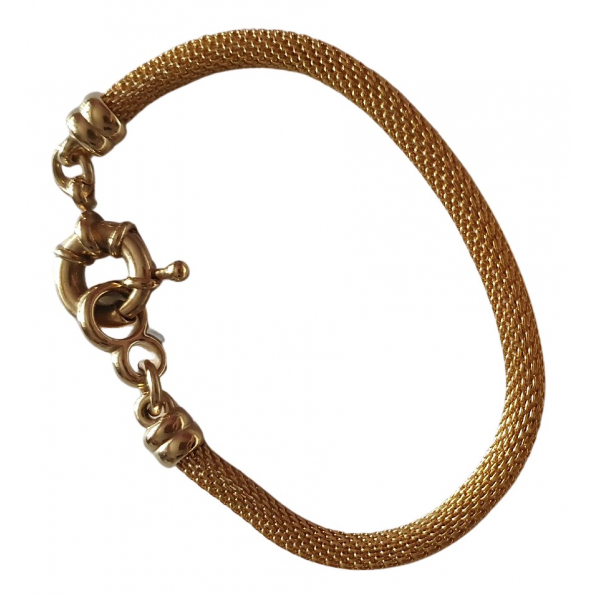 Non Signé / Unsigned N Gold Gold plated bracelet for Women N