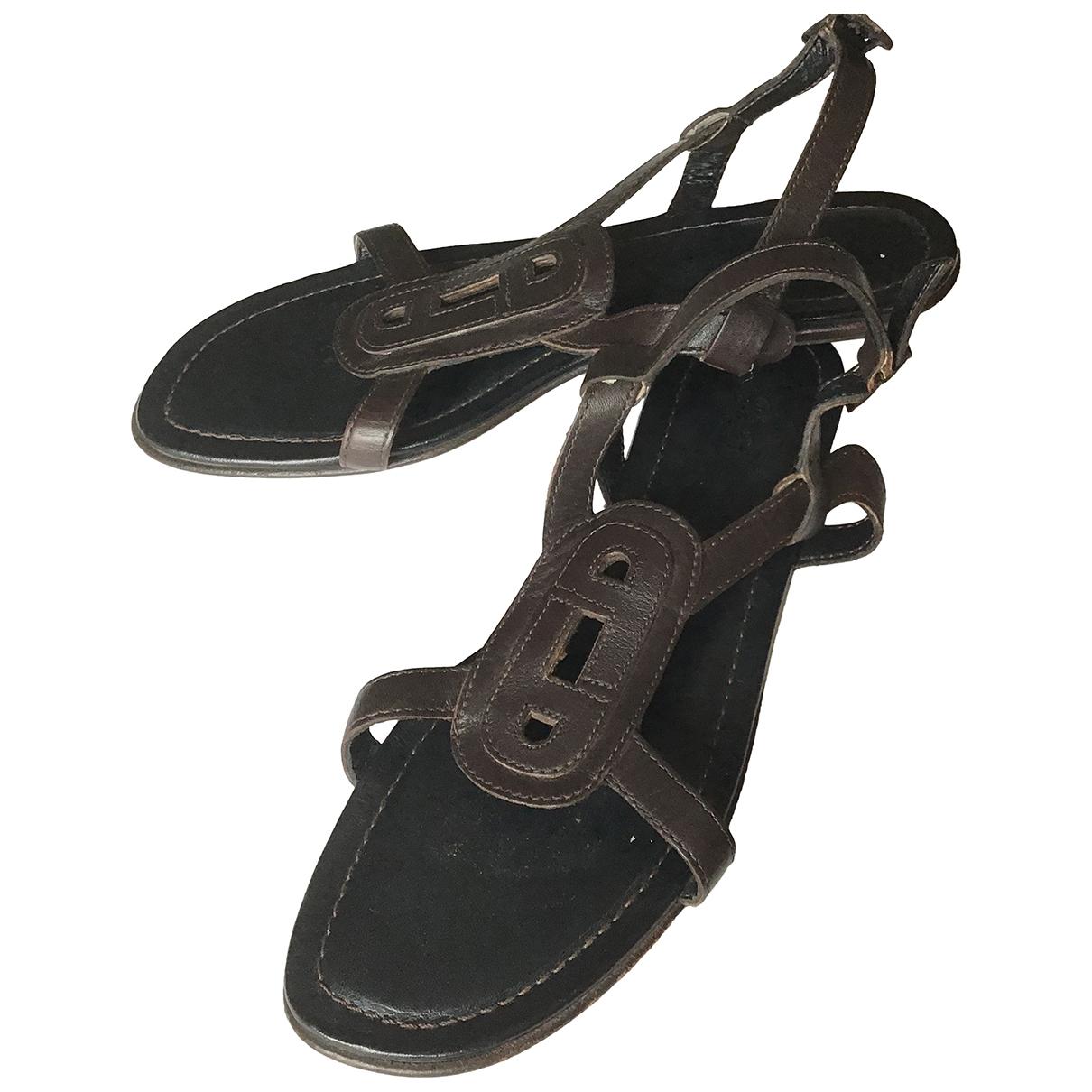 Sandalias romanas de Cuero Paraboot