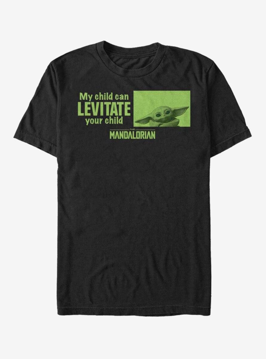 Star Wars The Mandalorian The Child Mine Can Levitate T-Shirt