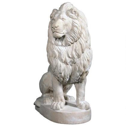 NE1602745 Stately Chateau Lion Statue