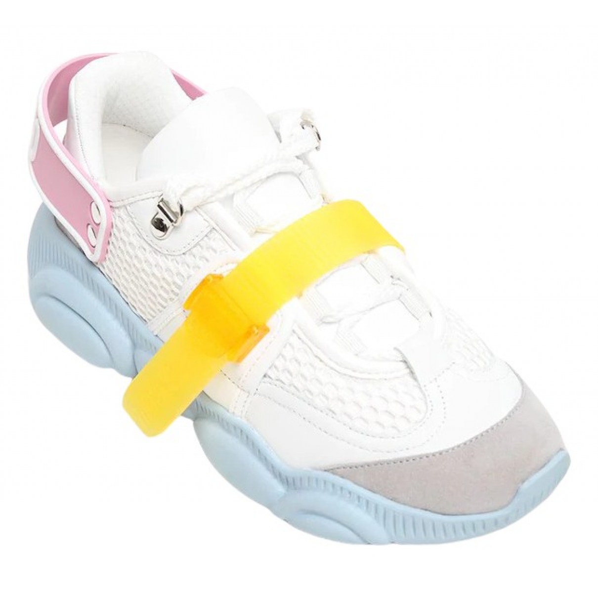 Moschino - Baskets   pour femme - blanc