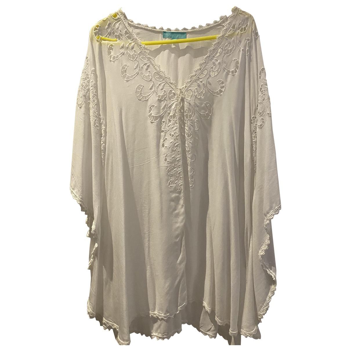 Melissa Odabash \N Kleid in  Weiss Baumwolle