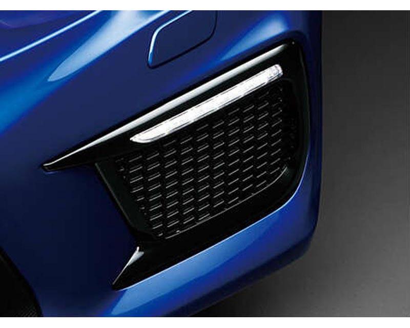 Charge Speed - Front Turn Signal Lights with OEM Subaru Plastic Black Bezel (Pair) Subaru WRX STi VA-D 18-19