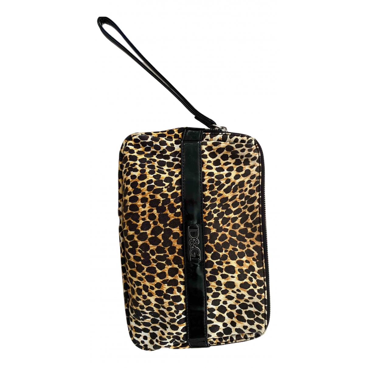 D&g N Multicolour Cotton Clutch bag for Women N