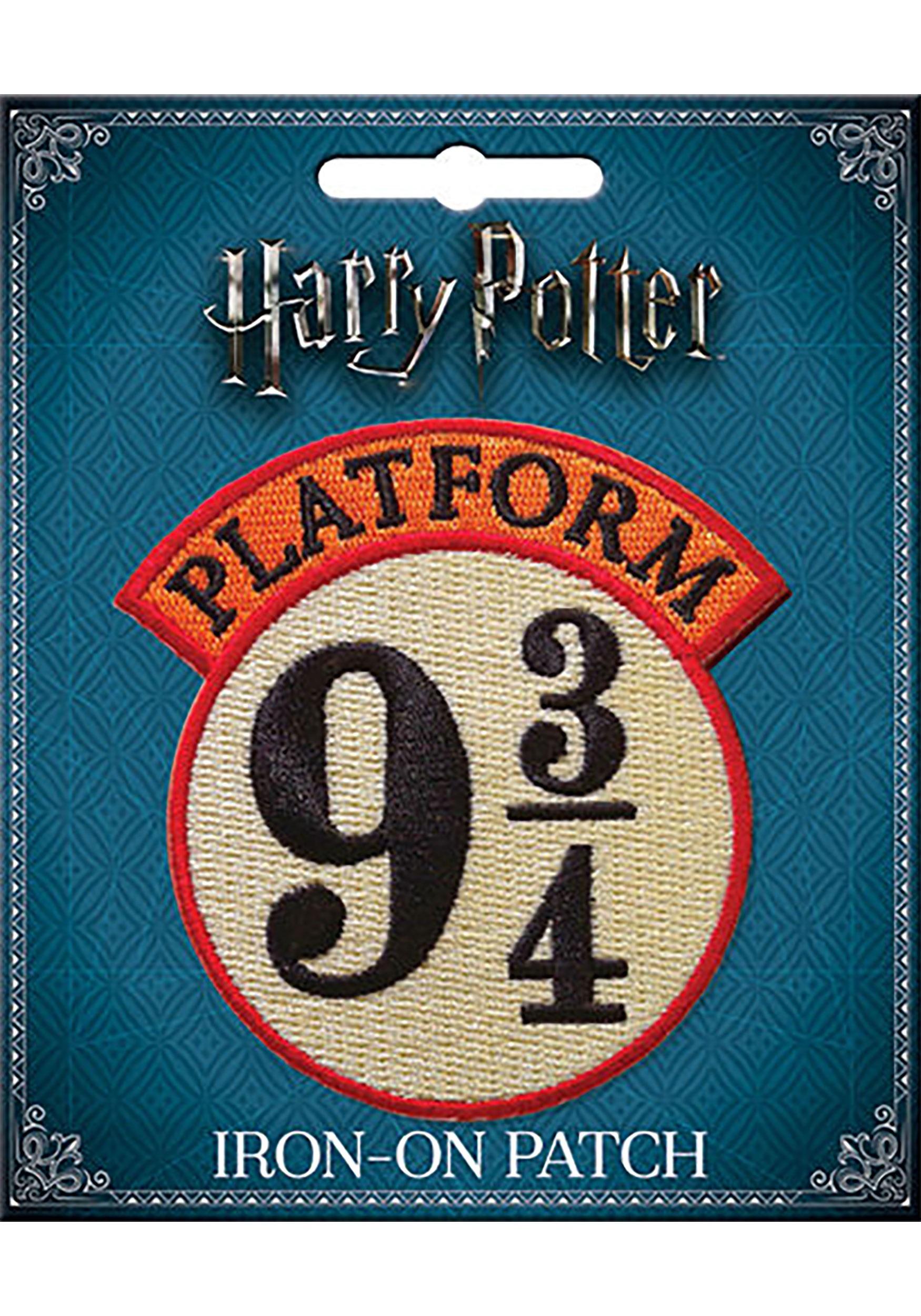 Platform 9 3/4 Harry Potter Iron-On Patch