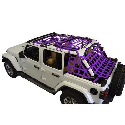 DirtyDog 4x4 Cargo Netting Kit (Purple) - JL4N18ACPR