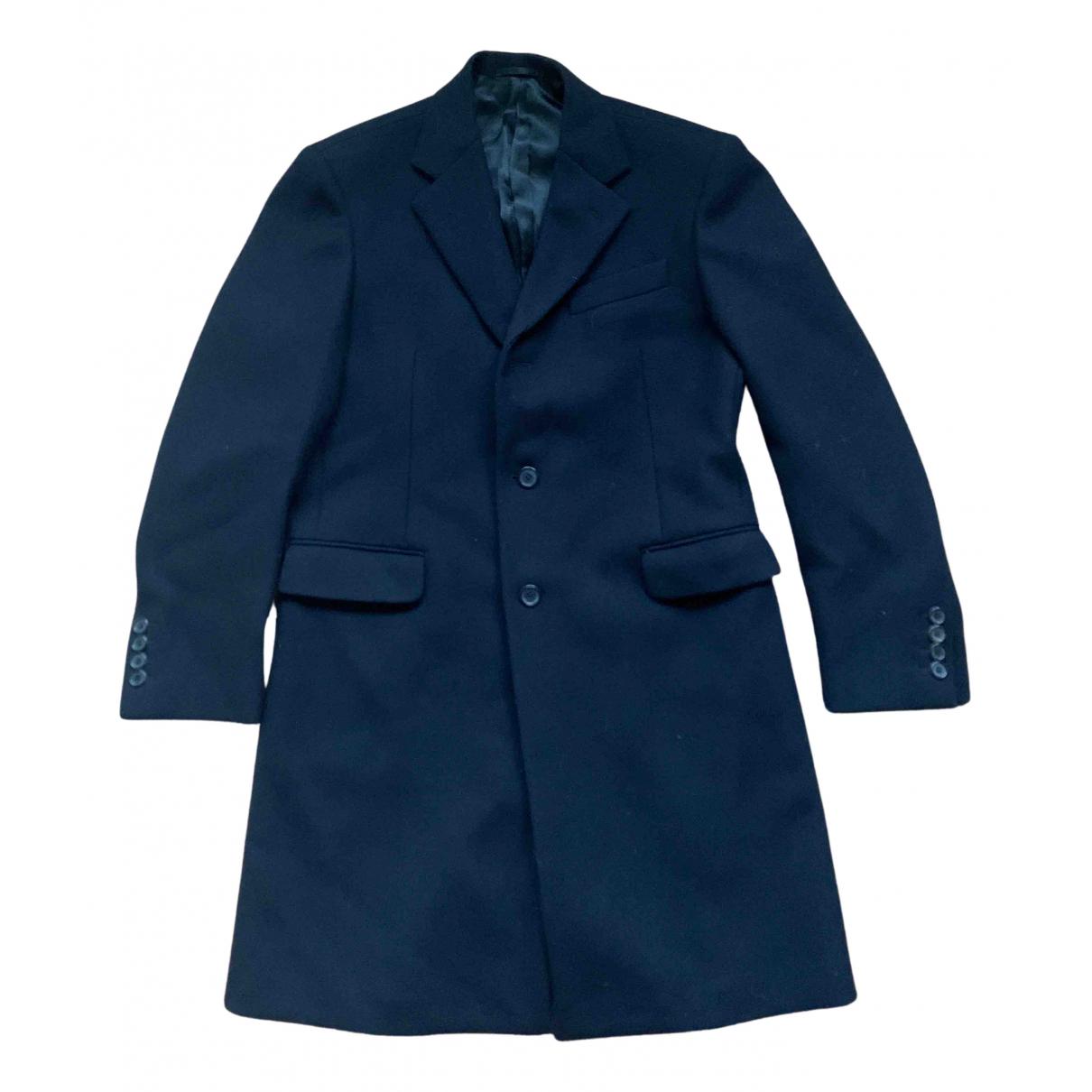 Prada N Black Wool coat  for Men 48 IT