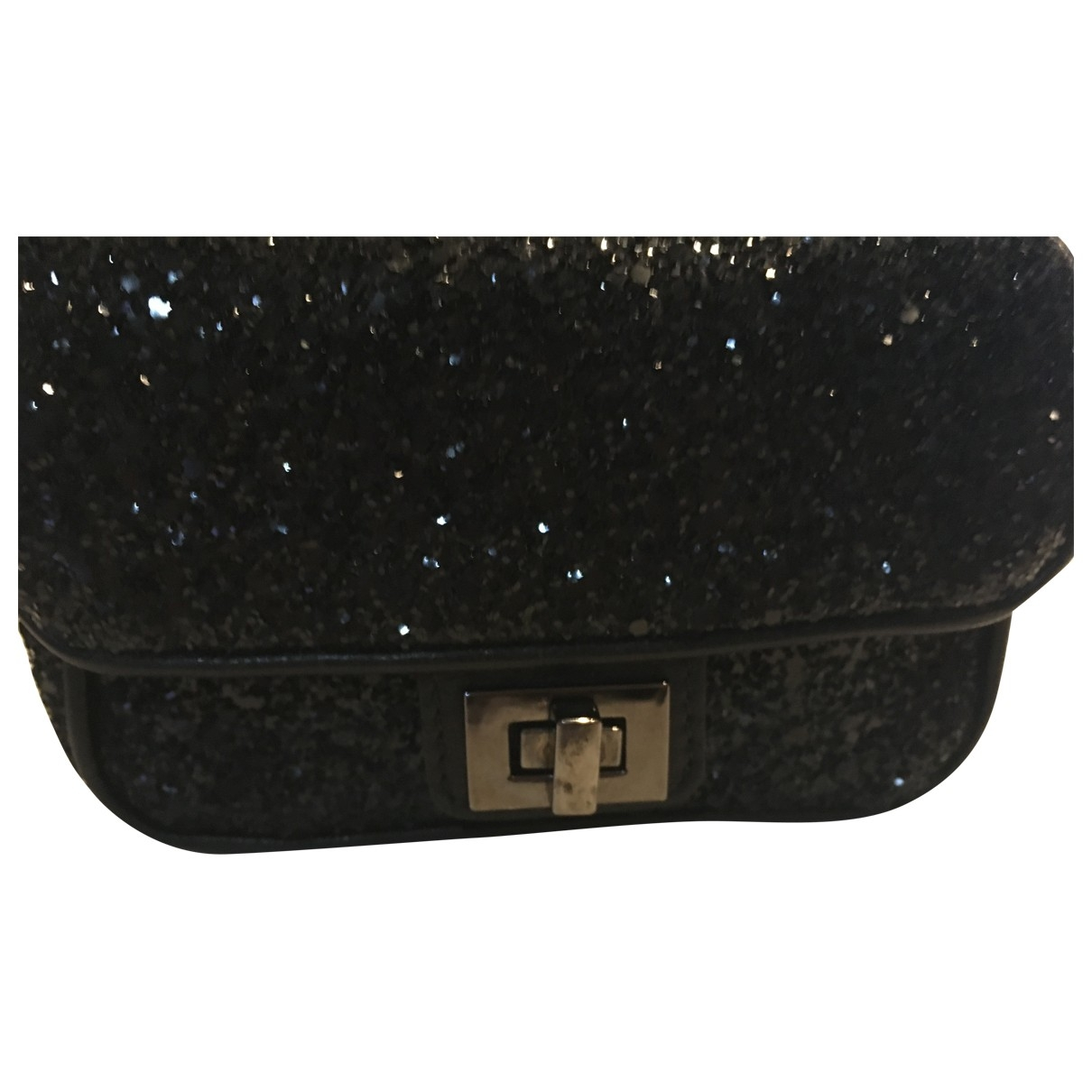 Philipp Plein \N Clutch in  Schwarz Leder