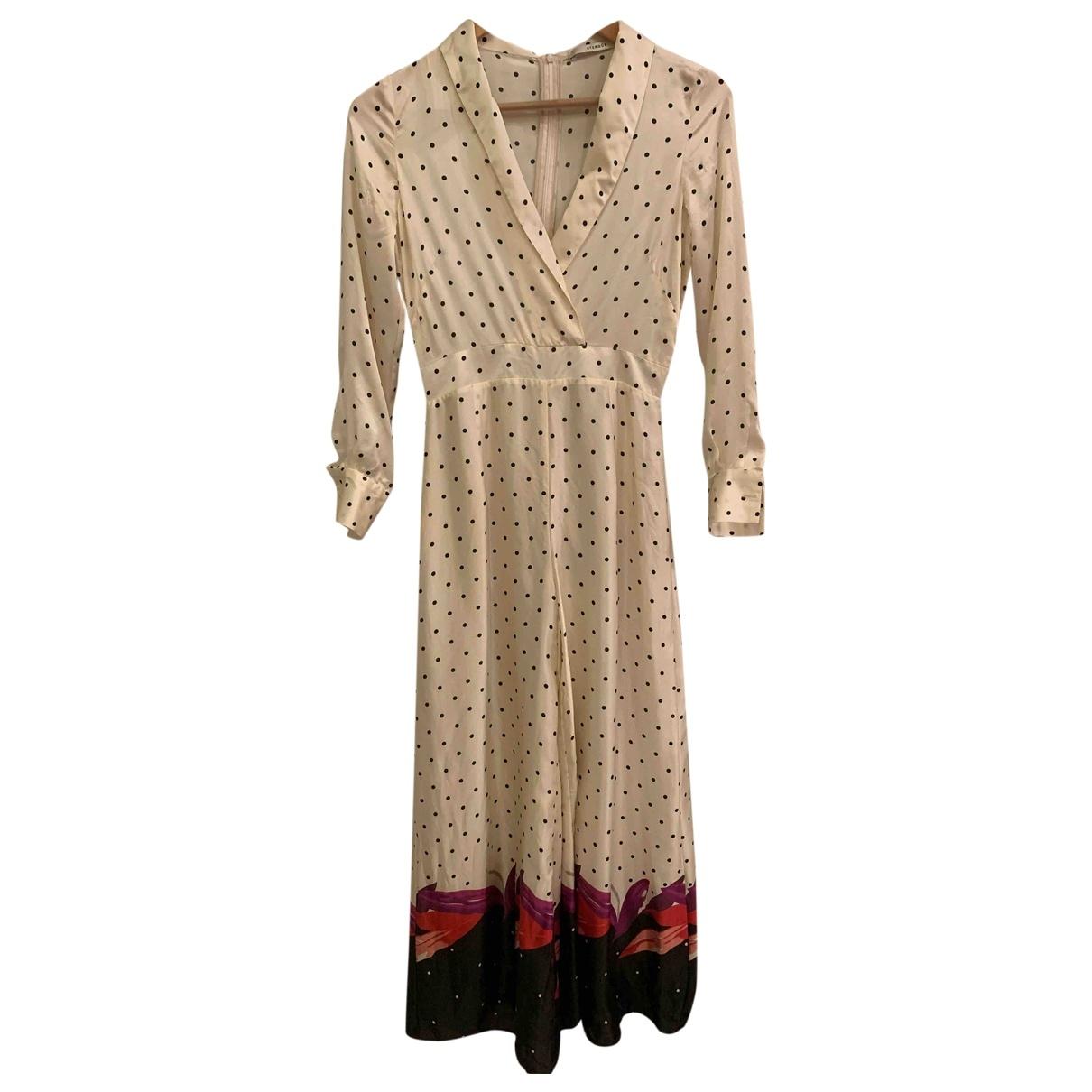 Uterque - Combinaison   pour femme en soie - beige